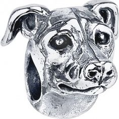 #Greyhound Bark Beads, $79.95, 925 Sterling Silver, Compatible with Trollbeads, Pandora, and Chamilia bracelets, Hand-crafted in the USA, Available at ANDREW GALLAGHER JEWELERS, Newark, DE 302-368-3380