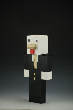 Lego Custom Minecraft Chicken Skin by BrickBum Chicken Skin, Minecraft Creations, Lego Minecraft
