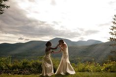 Elizabeth and Nicole-Onteora Mountain House-Hudson Valley Wedding