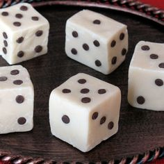 Liar's Dessert Dice FUDGE!! Perfect for Bunco!