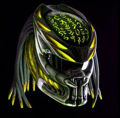 Sumar_store's booth at Bonanza - Helmets, Parts & Accessories. Motorcycle Events, Custom Motorcycle Helmets, Motorcycle Gear, Predator Helmet, Predator Alien, Used Motorcycles, Custom Motorcycles, Half Helmets, Helmet Accessories