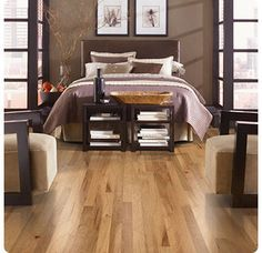"""View the Mohawk Industries WEC38-20 Hickory Golden Caramel Engineered Hardwood Flooring - 3"""" Wide Planks (28.25 SF / Carton) at Build.com."""