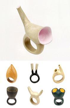 orifice rings by Daniel Dicaprio