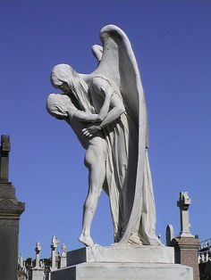 Angel in Bronte Cemetery