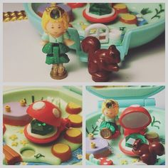 Make sure to check out: MEvintagetoys on youtube for more polly pocket videos