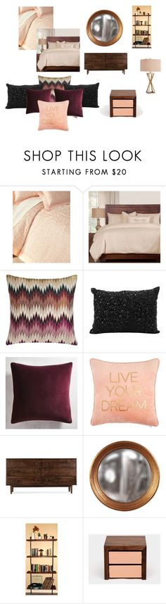 """""""Bedroom decor"""" by seka501 on Polyvore featuring interior, interiors, interior design, home, home decor, interior decorating, Sweet Dreams, Missoni Home, Nourison and Pier 1 Imports"""