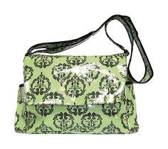 Vintage Messenger Style Diaper Bag