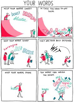 INCIDENTAL COMICS: Your Words