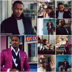 Anthony Mackie looking fine created by Kimberlydyan