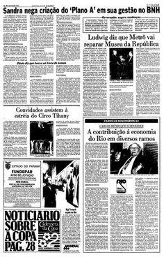 14 de Maio de 1982, Matutina, Rio, página 12