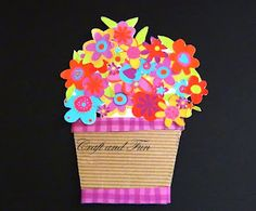 Crafts for children: tutorial greeting cards for Mother's Day