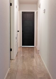 Master Makeover: DIY Plain to Paneled Door | Jenna Sue Design Blog
