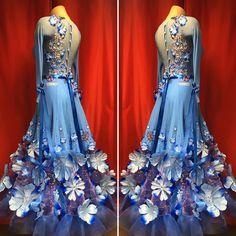 Ballroom Costumes, Dance Costumes, Beautiful Evening Gowns, Beautiful Dresses, Latin Ballroom Dresses, Ballroom Dancing, Dance Fashion, Fashion Dresses, Formal Dresses For Weddings