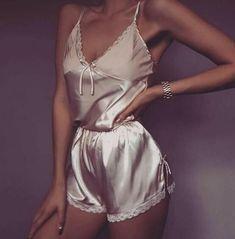 NEW Summer Women Sexy Pajamas Silk Pijamas Sleepwears Deep V Sling Lingerie Set , Sexy Lingerie, Jolie Lingerie, Lingerie Outfits, Pretty Lingerie, Women Lingerie, Elegant Lingerie, Satin Lingerie, Purple Lingerie, Beautiful Lingerie