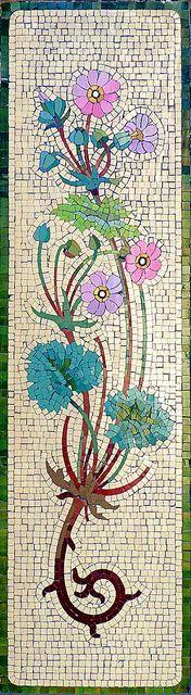 Barcelona - Riera Alta 002 d Mosaic Wall Art, Mosaic Diy, Mosaic Garden, Mosaic Crafts, Mosaic Projects, Mosaic Tiles, Mosaic Stepping Stones, Stone Mosaic, Mosaic Glass