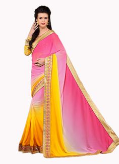 http://www.sareesaga.com/index.php?route=product/product&product_id=37697 Style	:	Designer Saree Shipping Time	:	10 to 12 Days Occasion	:	Party Festival Fabric	:	Georgette Colour	:	Beige Work	:	Embroidered Patch Border Work  Customer Support : +91-7285038915, +91-7405449283