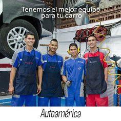 Ellos son parte de nuestro equipo de mecánicos que están a tu disposición para arreglar tu carro rapidísimo y con la mejor calidad en nuestro servicio #QuickRepair. Te esperan en #Autoamérica #Industriales. https://goo.gl/XSrnFP