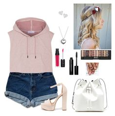 A fashion look from February 2016 featuring hooded shirt, denim shorts and platform pumps. Browse and shop related looks. Aphrodite Cabin, Camp Jupiter, Chinese Laundry, Vivienne Westwood, Bobbi Brown, Pandora, Camping, Adidas, Cosmetics
