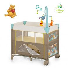 Hauck Dream n Care Center - Pooh Spring In The Woods Travel Cots 5b07e5936b