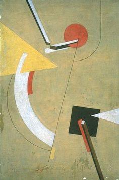"""El Lissitzky - """"Proun"""" {1923}"""