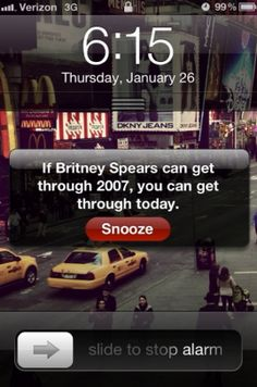 hahaha this is so motivational in a horrible way. just save yourself more dignity than brit brit and you're golden!