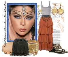 """""""'Cause I'm a Gypsy"""" by queenranya ❤ liked on Polyvore"""