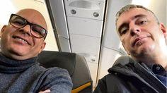 Taxifahrer Mahmoud M. und Jürgen P.