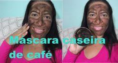máscara caseira  de café