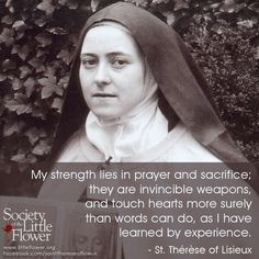 ~St. Therese of Lisieux