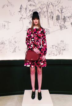 NEED this kate spade ny #AW15 look in my life! #NYFW
