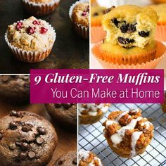 9 Gluten-Free Muffins You Can Make at Home