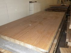 Reclaimed Yellow Pine Bowling Alley | Build It Green! NYC