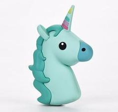 Kawaii Green Unicorn Emoji Portable Powerbank Charger for iPhone   Android 57c8cc75e0e9