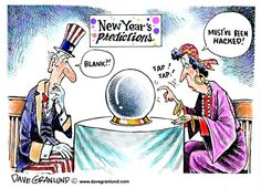 """New Year's predictions ***  """"Is FREE Electricity From Thin Air for Real?"""" (Yes! Tesla proved it!) Watch this video -> http://patriotproducts.org/free-electricity-from-thin-air/  ***  Posted on December 29, 2014, 5:30 pm from http://www.cagle.com/2014/12/new-years-predictions/"""