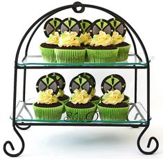 Ben 10 Cupcakes by ~Très Chic Cupcakes by ShamsD~, via Flickr