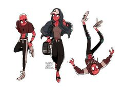 This looks more of a Spidergirl than a Spiderman, by just the outfits