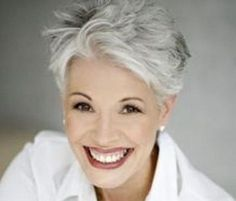 11 Sophisticated and Sexy Short Haircuts for Women With Gray Hair