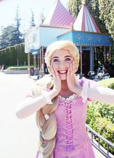 rapunzel was completely free