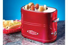 Pop-Up Hot Dog Toaster.      使い方、見たまんま!アメリカではハンバーガーと並ぶ国民食といわれるホットドッグ。wikipediaによると、アメリカの1人当たり...