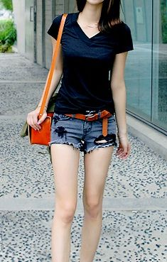 Street style | Shorts outfit