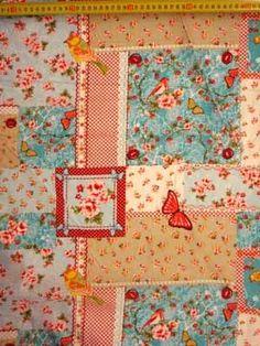 1435 daisy patch aqua