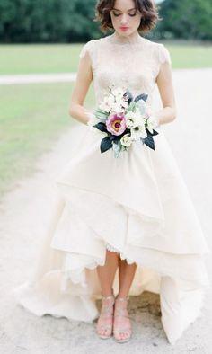 Wedding dress idea; Featured Photographer: Corbin Gurkin Photography