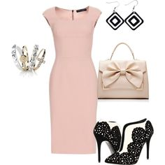 """he took her to dinner"" by bsimon-1 on Polyvore"