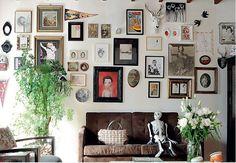 Encantada Home: quadros na parede