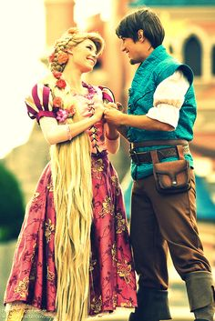 Now that I see you (Rapunzel and Eugene)