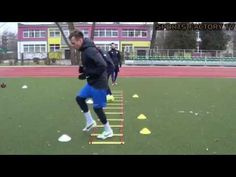 Football Training Drills: Individual football training for Quick feet (HD)