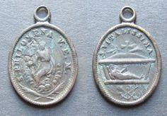 Medaglia religiosa votiva S. Vitalissima e Santa Filomena Roma Vaticano   eBay Saint Philomena, Coins, Personalized Items, Ebay, Santa, Vatican City, Rome, Rooms