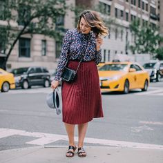 Over and out from day 1 of #NYFW!  after some street style spotting we're heading to Birchbox store to build our own boxes followed by some well earned pizza and a glass of rose!  - Hayley xo @frockmeimfamous #LRFashionWeek