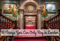 10 Things You Can Only Buy in London