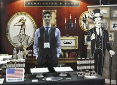 Trade Show Secrets from 6 Gourmet Food Companies  fabulous display ideas here!